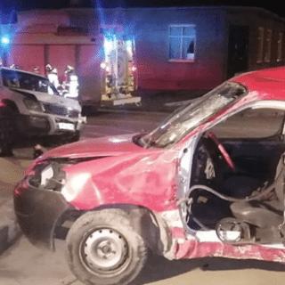 PTA. ARENAS: Violento accidente en toque de queda: hombre en riesgo vital