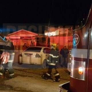 Principio de incendio en una vivienda, sin lesionados
