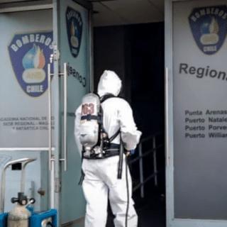 PTA. ARENAS: Cierran cuartel de la 2ª compañía de Bomberos por contagio de voluntarios
