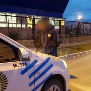 Un policía detenido por contravenir la cuarentena, manejando alcoholizado de madrugada