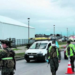PTA. ARENAS: Conductor ebrio y sin licencia fue detenido por infringir la cuarentena