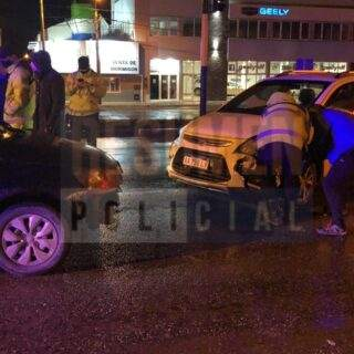 Accidente múltiple con una ambulancia involucrada