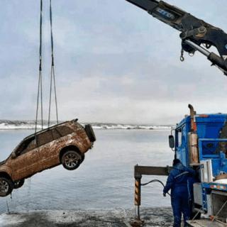 PTO. NATALES: Encuentran un segundo vehículo sumergido en aguas del Canal Señoret