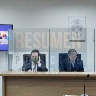 Tribunal defendió la transmisión del juicio por Facebook y el imputado Núñez se negó a declarar