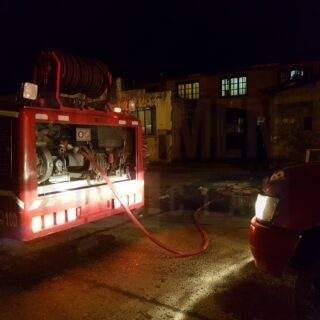 Principio de incendio rápidamente controlado