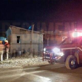 Incendio en la Margen Sur sin mayores daños