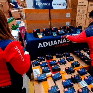 PTA. ARENAS: Aduanas decomisó 2.000 consolas portátiles de videojuegos falsificadas