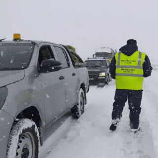 NEUQUÉN: Piedra del Águila: apareció muerto bajo nieve un peón rural