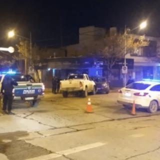 CIPOLLETTI: Un joven resultó herido en un brutal choque en pleno centro