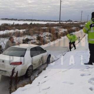 Despiste de un vehículo a la altura de BGH con su conductor en estado de ebriedad