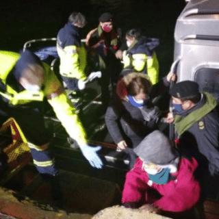 PTO. NATALES: Armada logró realizar evacuación médica desde Puerto Edén