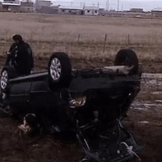 RÍO GALLEGOS: Volcó vehículo en Avenida Asturias