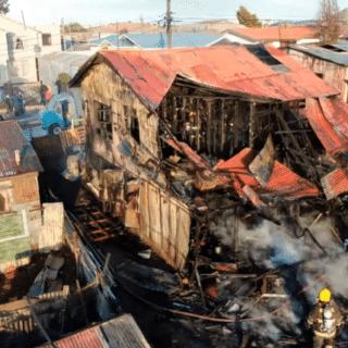 PTA. ARENAS: Envían a la cárcel a sujeto imputado por incendio en la población Carlos Ibáñez