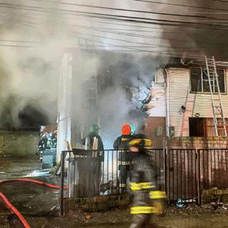 PTA. ARENAS: Daños en dos viviendas y una persona lesionada dejó incendio ocurrido en Loteo Mardones