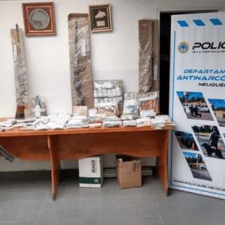 NEUQUÉN: Las Perlas: desbarataron la banda narco del pibe y el cana