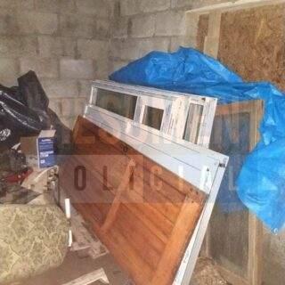 """""""Nosotros compramos esas puertas y ventanas de buena fe con el dinero que habíamos ahorrado"""" dijo familia allanada por robo de materiales"""