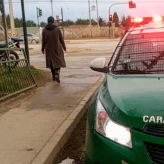 PTA. ARENAS: Con un carabinero herido y dos detenidos terminó persecución policial