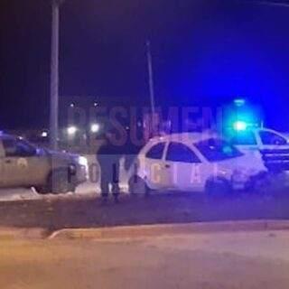 Un conductor en estado de ebriedad despistó y su rodado fue incautado
