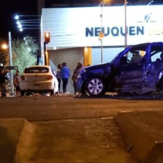 NEUQUÉN: Violento accidente: iba borracho, cruzó en rojo y mató a otro conductor