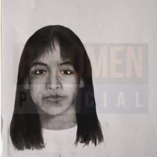 Actualización del rostro de la menor Sofía Herrera