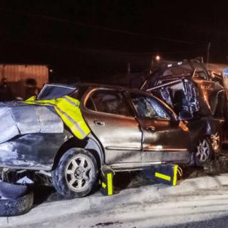 PTA. ARENAS: Múltiples lesionados dejó fuerte colisión en el barrio 18 de Septiembre