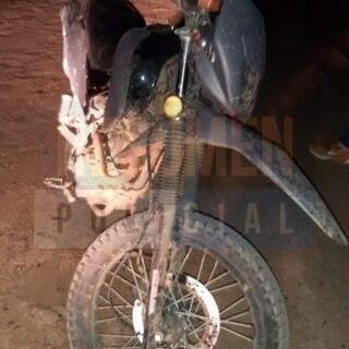 Recuperaron repintada, la quinta motocicleta robada del corralón judicial tras 3 allanamientos realizados en la margen sur