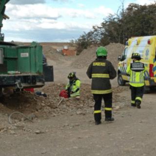 PTA. ARENAS: Trabajador sufrió amputación de brazo al quedar atrapado en maquinaria