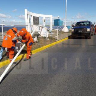 Defensa Civil asistió más de una docena de emergencias tras el temporal de viento de ayer