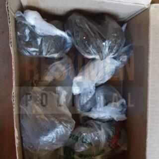Detuvieron a una mujer con un cuarto de kilo de marihuana en las calles de Ushuaia