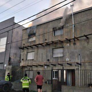Incendio en un departamento en la ciudad de Ushuaia