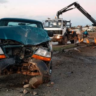 PTA. ARENAS: Seguidilla de accidentes este lunes: Atención a las condiciones del pavimento