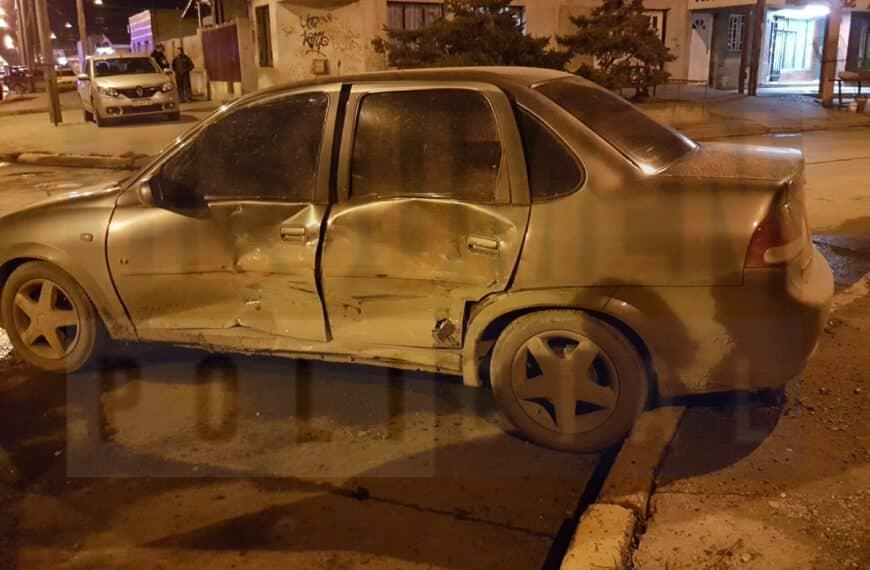 Violento accidente de tránsito dejó el saldo de una conductora lesionada
